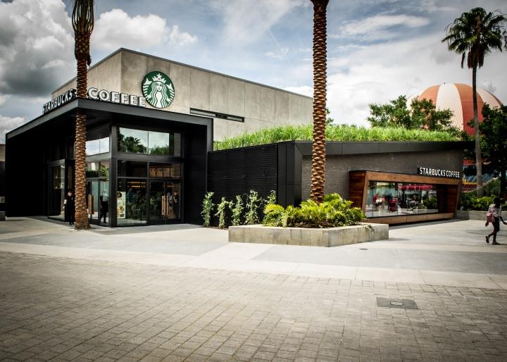 Starbucks store at disneyland orlando florida retail