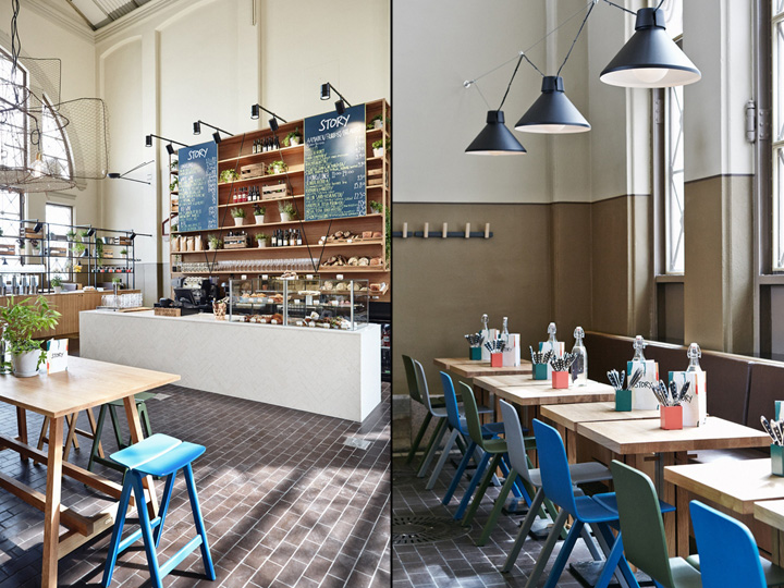 Story cafe restaurant by joanna laajisto creative studio for Design hotel helsinki