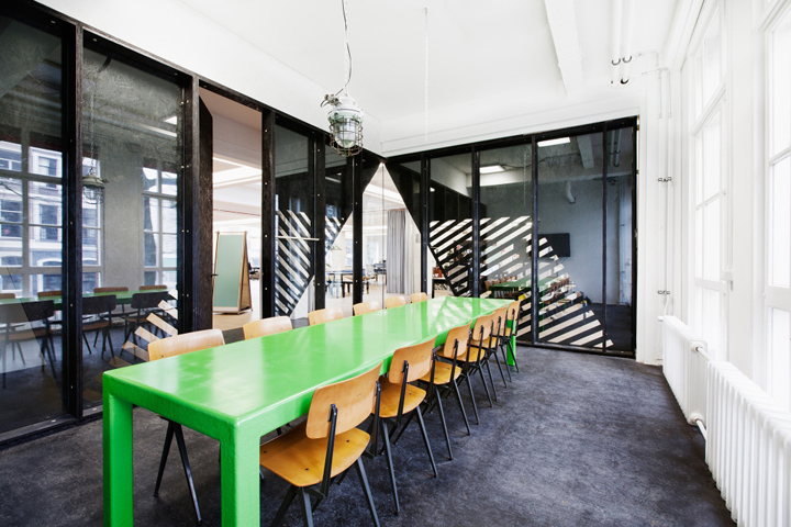 Superheroes office by Simon Bush-king Architecture, Amsterdam ...