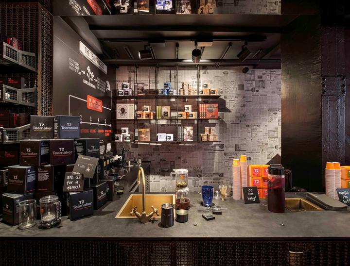t2 tea store design by landini associates london uk