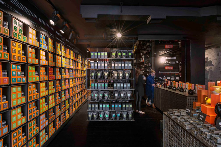 Coffee tea retail design blog for Retail design companies london