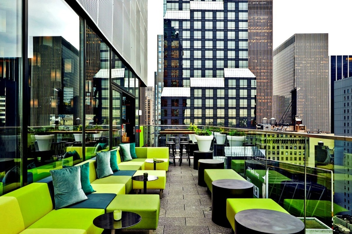 187 Citizenm Times Square Hotel By Concrete Architectural