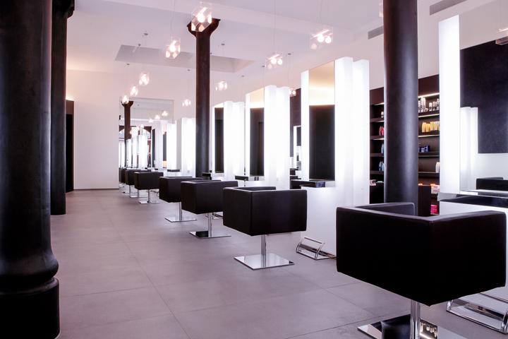 Aerni haar kleid bar spa by barmade interior design for Design hotel bern