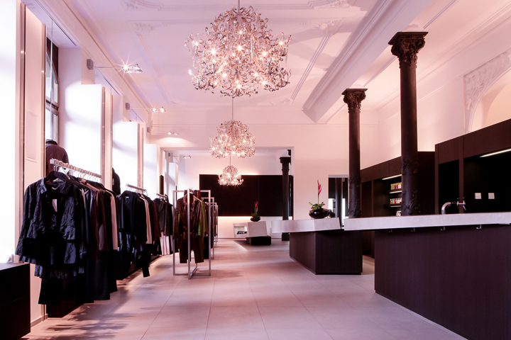 Crystal Chandeliers 187 Retail Design Blog