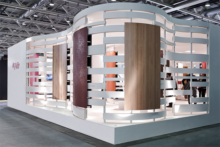Exhibition Booth Pdf : Argolite exhibition stand at swissbau fair by dobas