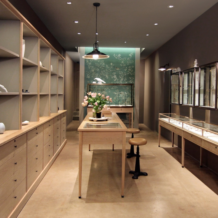 August Jewelry Los Angeles California Retail Design Blog