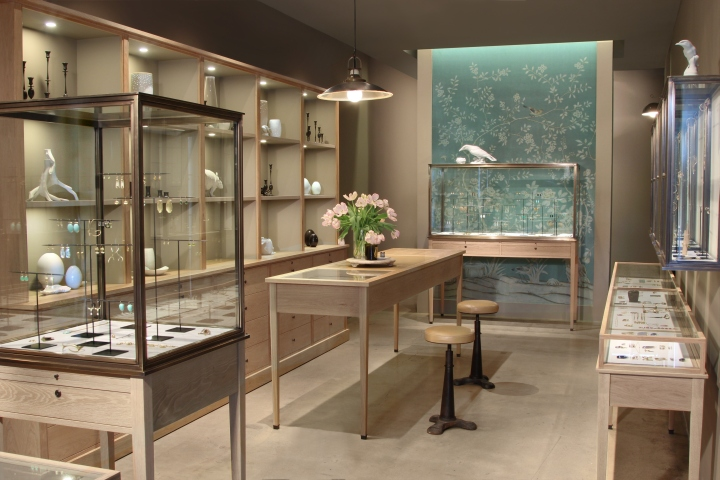 August jewelry los angeles california retail design blog for August jewelry store los angeles