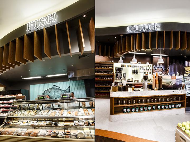 纽约布鲁克林breadberry超市设计