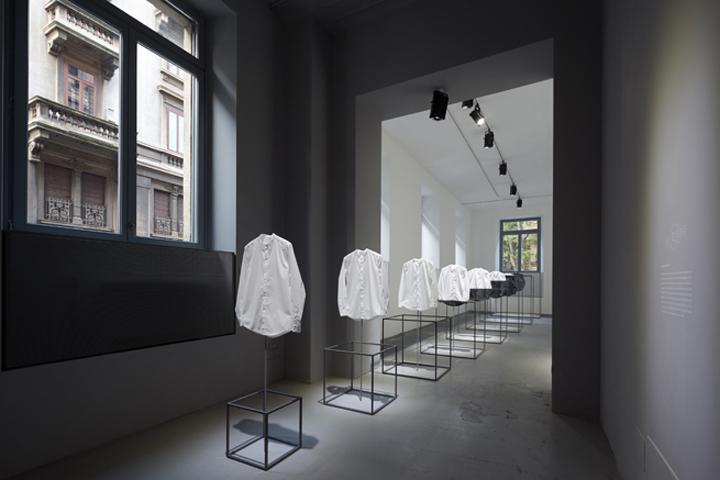 意大利-米兰cos品牌服装店设计