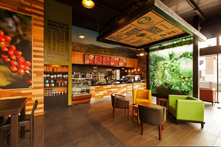 ceiling ideas for mobil home - Café Barista by Interbrand Design Forum Guatemala