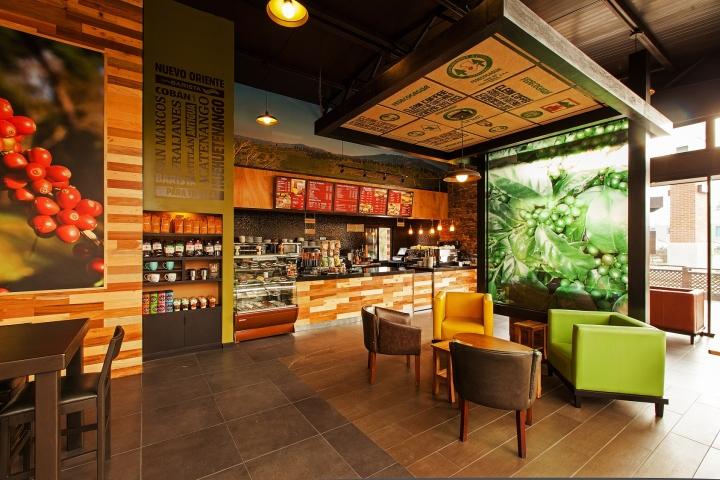 ceiling ideas for mobil home - Café Barista by Interbrand Design Forum Guatemala
