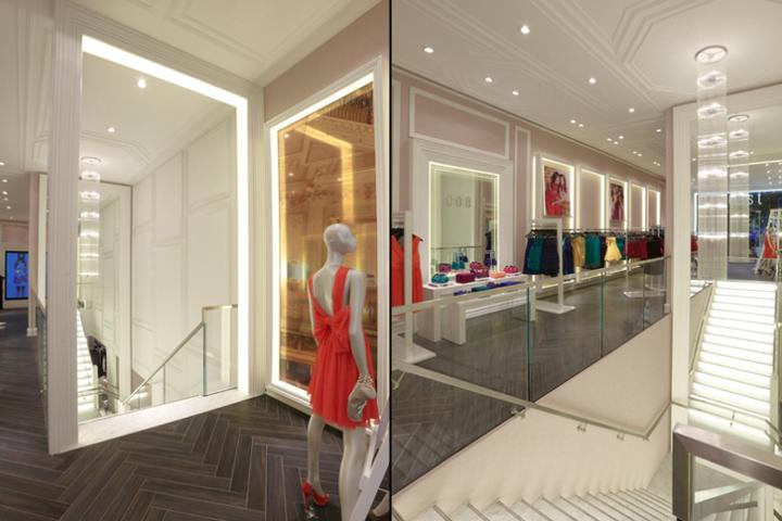 现代风格服装店楼梯装修效果图