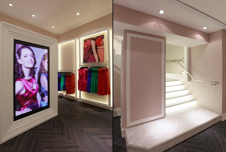 英国伦敦flagship 女装服装店设计