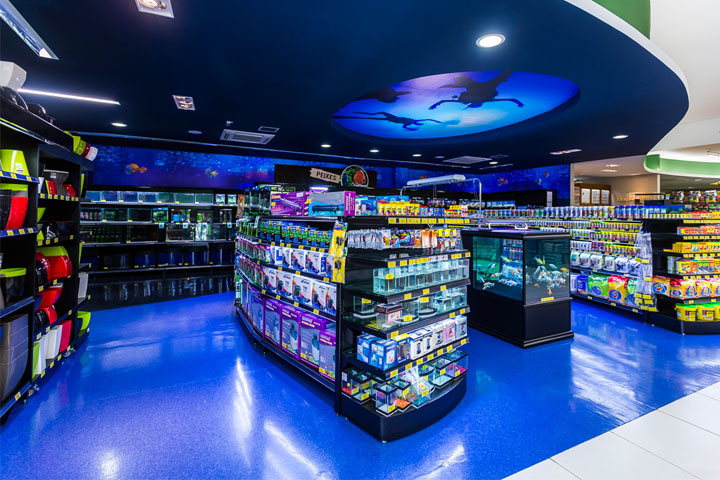 Cobasi pet shop by design novarejo sao paulo brazil for Fish and pet store