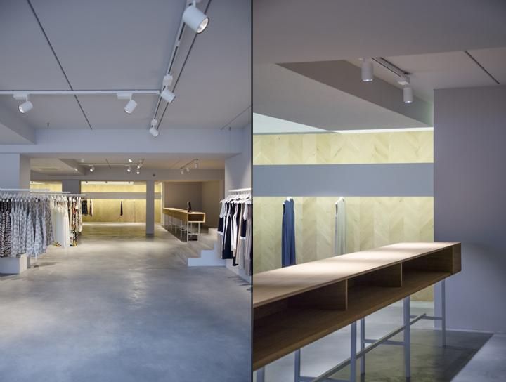 意大利-奥尔贾泰汤姆服装概念店设计