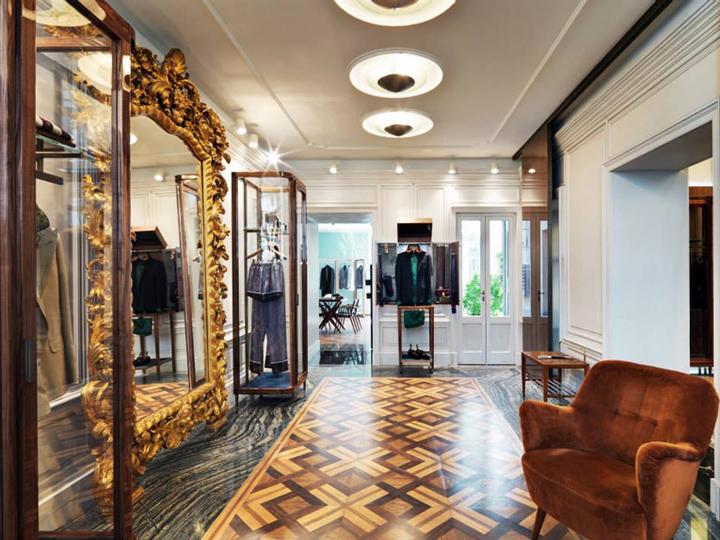 意大利-米兰-Dolce & Gabbana 服装店设计