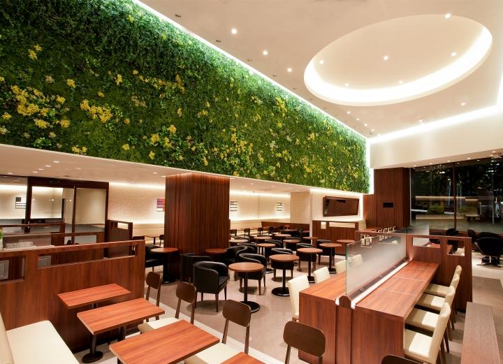 187 Doutor Coffee Shop By Ichiro Nishiwaki Design Office