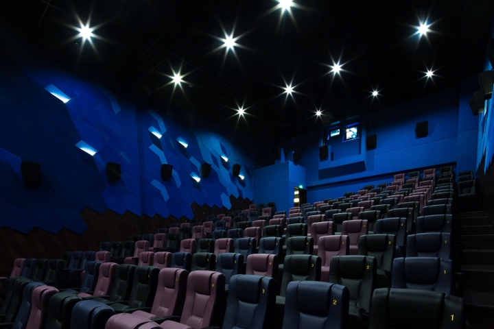 187 Emperor Ua Cinema By Oft Interiors Foshan China