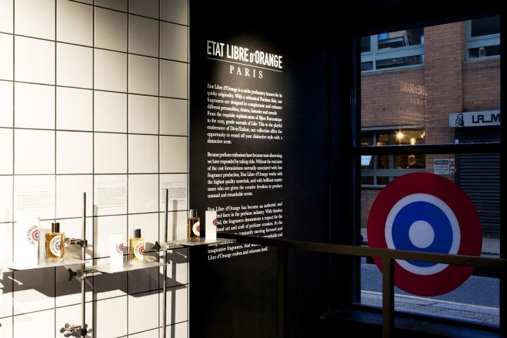 英国伦敦–Etat Libre香水店设计
