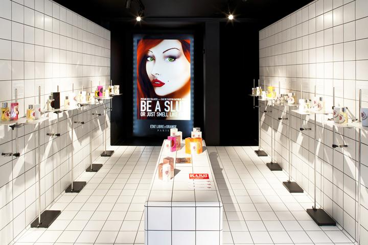 Etat Libre D'Orange flagship store by Shed, London – UK