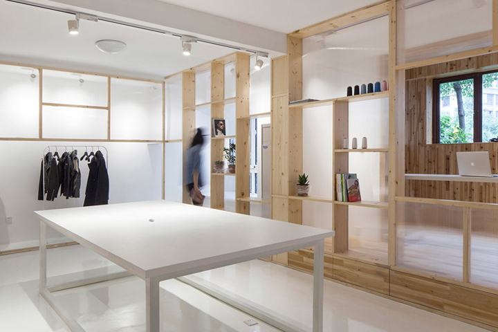 Fashion Studio By Cao Pu Nanjing China 187 Retail Design Blog