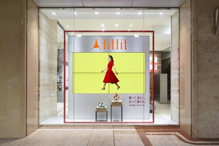 日本-大阪–Fitfit女鞋店设计