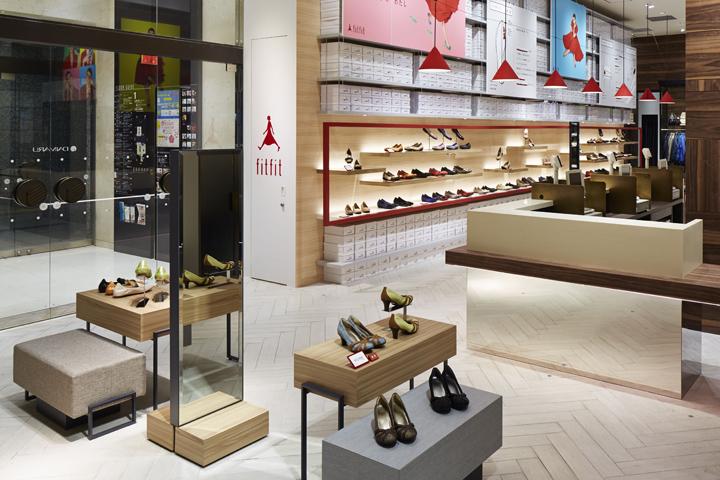 Fitfit Store By Waltz Osaka Japan 187 Retail Design Blog