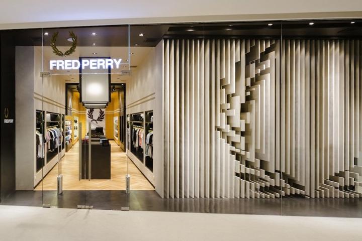 fred perry retail design blog. Black Bedroom Furniture Sets. Home Design Ideas