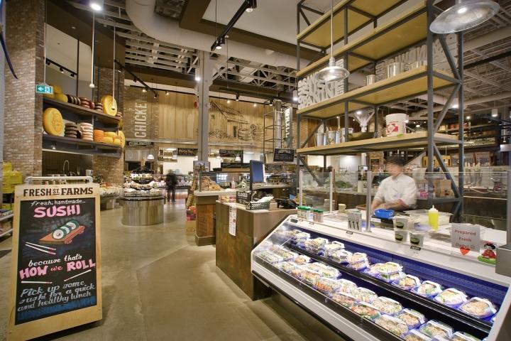 加拿大Fresh St. Farms综合超市设计