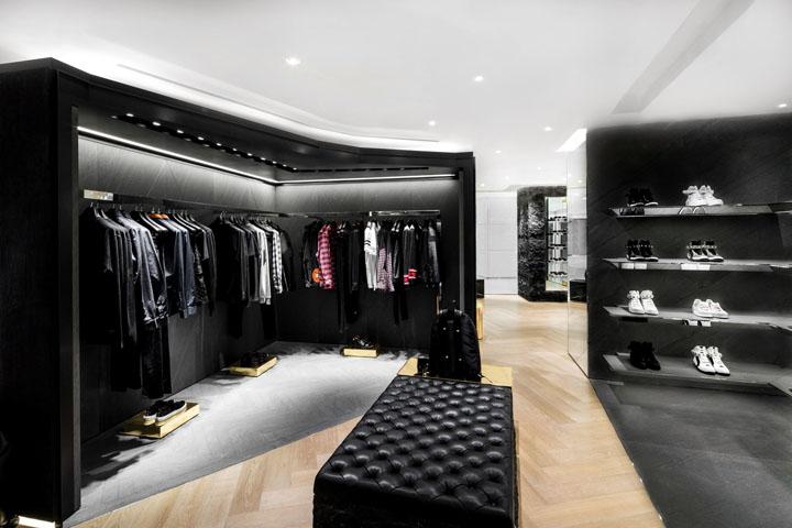 香港givenchy品牌服装店设计