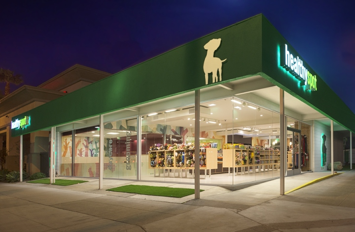 Healthy Spot store by AkarStudios, Costa Mesa – California » Retail ...