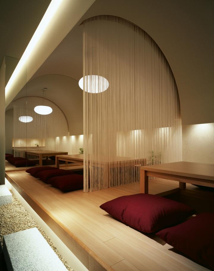 Kappo hisago restaurant by ichiro nishiwaki design office for Office design japan