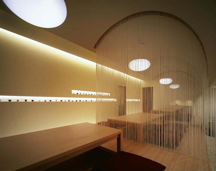 Indirect Office Lighting Kappo Hisago Restaurant By Ichiro Nishiwaki Design Office