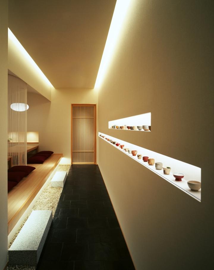 Kappo hisago restaurant by ichiro nishiwaki design office for Office design japanese