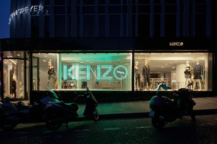 187 Kenzo Windows 2014 Summer Paris France