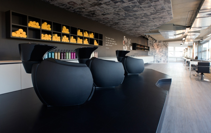kuntzmann le coiffeur hair salon by seline soder laufen switzerland retail design blog. Black Bedroom Furniture Sets. Home Design Ideas