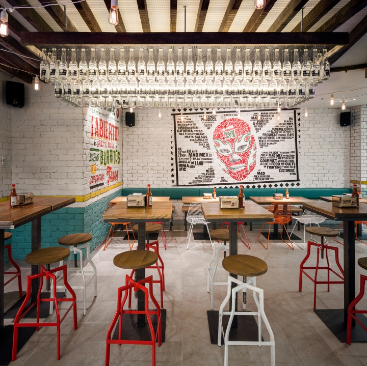 Mad mex grill restaurant by mccartney design sydney