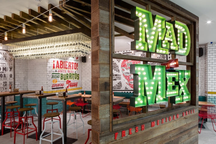 187 Mad Mex Grill Restaurant By Mccartney Design Sydney