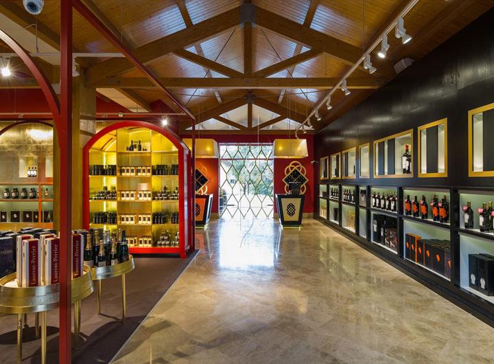 Marqu s de riscal flagship store by marketing jazz alava spain retail design blog - Arquitecto bodegas marques de riscal ...