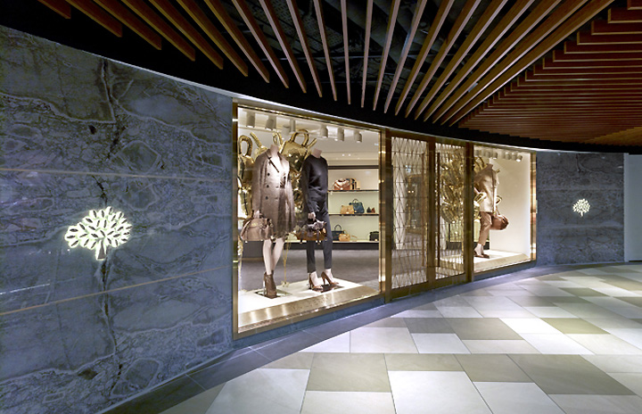 Mulberry Flagship Store By Universal Design Studio