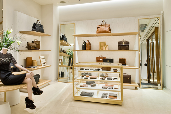 Mulberry 187 Retail Design Blog