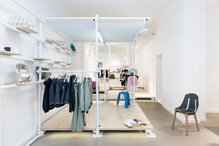scaffolding retail design blog. Black Bedroom Furniture Sets. Home Design Ideas