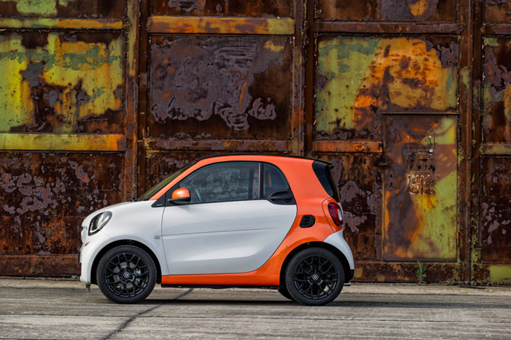 New Smart Fortwo Amp Forfour By Daimler 187 Retail Design Blog