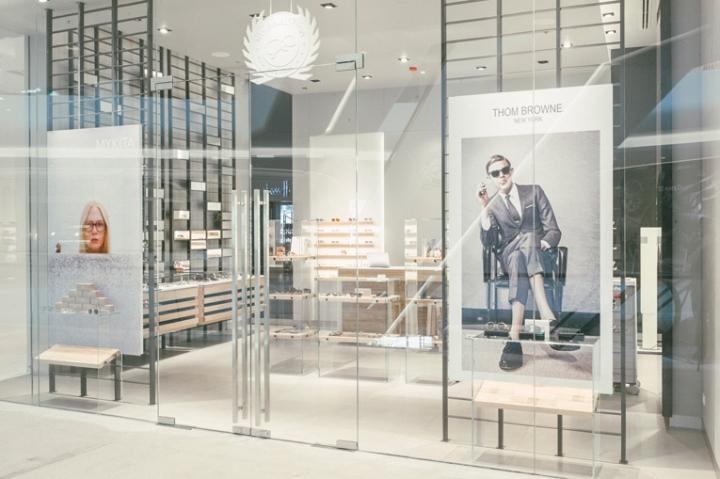 泰国曼谷–Niche眼镜店设计