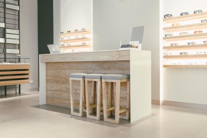 Brand new wooden s - Niche Nation Eyewear Store Bangkok Thailand 187 Retail