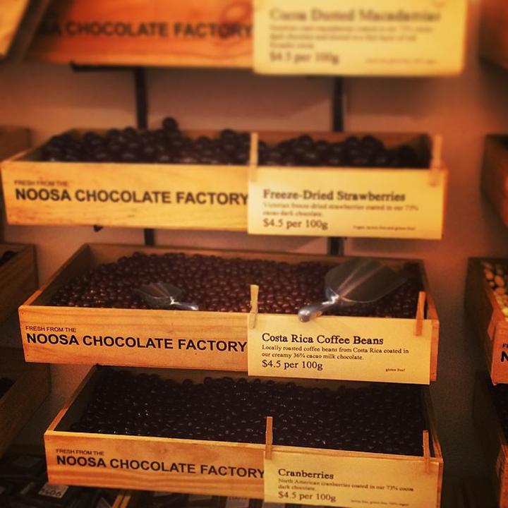 Noosa Chocolate Factory Brisbane Australia 187 Retail