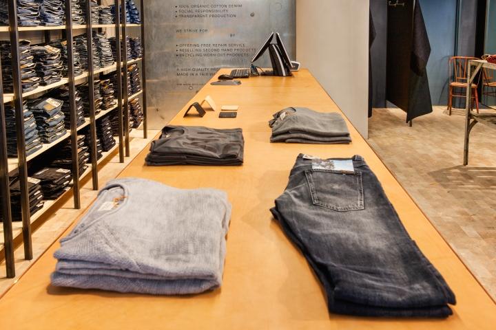 瑞典哥德堡Nudie牛仔裤专卖店设计