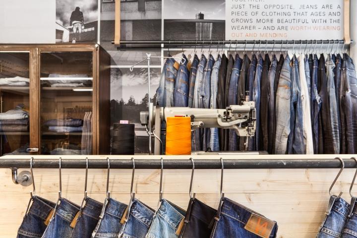 牛仔裤专卖店设计