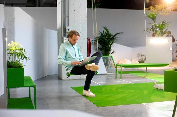 During The Entire Month Studio KNOL Has Monitored Productivity And Overall Satisfaction Among Out Of Office Members Joep Slagter From Also In Charge