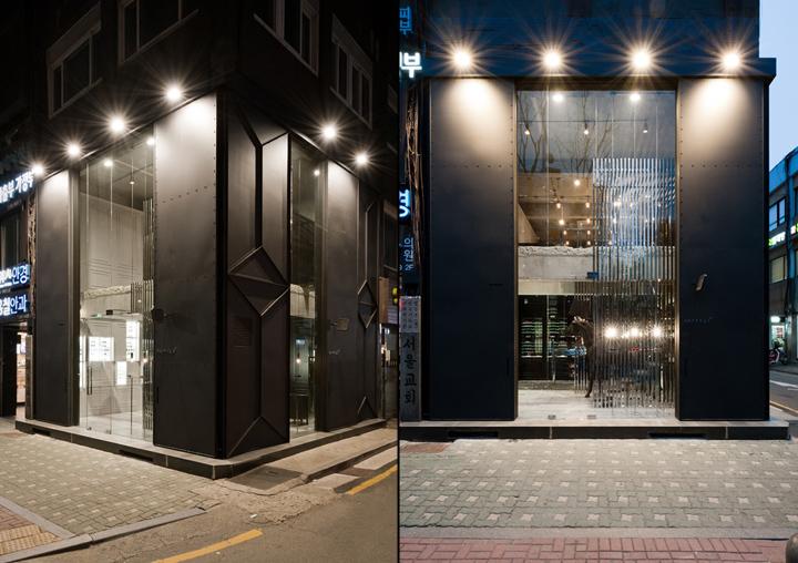 韩国汉城Papyrus optic眼镜店设计